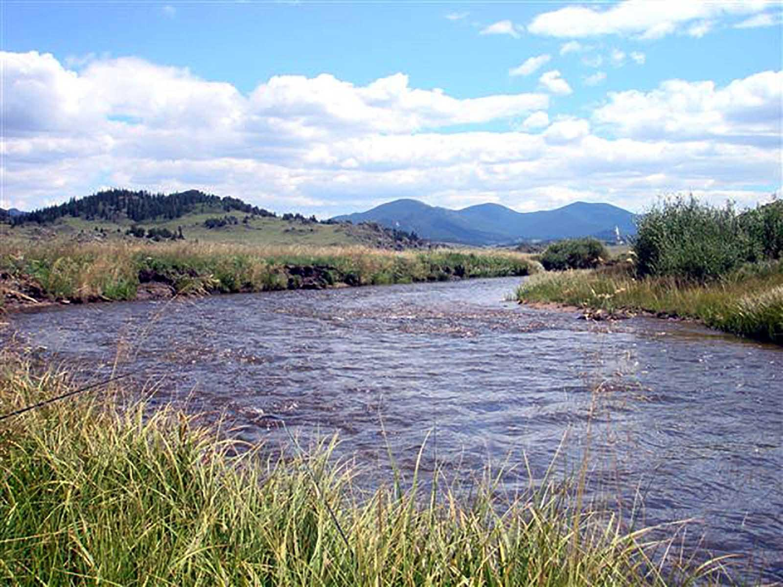 Park County, Colorado and a view of its Gold Medal Fishing waters