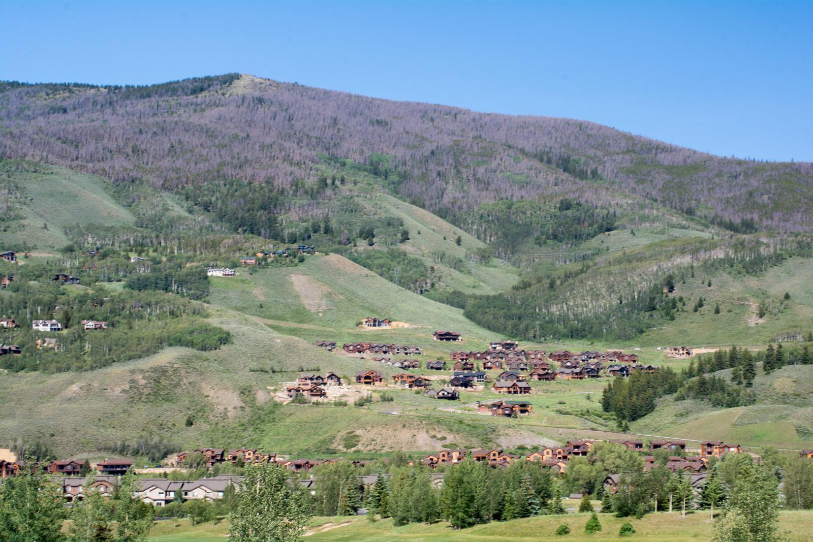 Angler Mountain Ranch sits on the east side of the upper Blue River Valley at the base of Ptarmigan Mountain