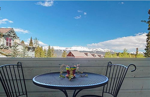View from Hideaway Condo of Ten Mile Range from Boreas pass road Breckenridge homes for sale