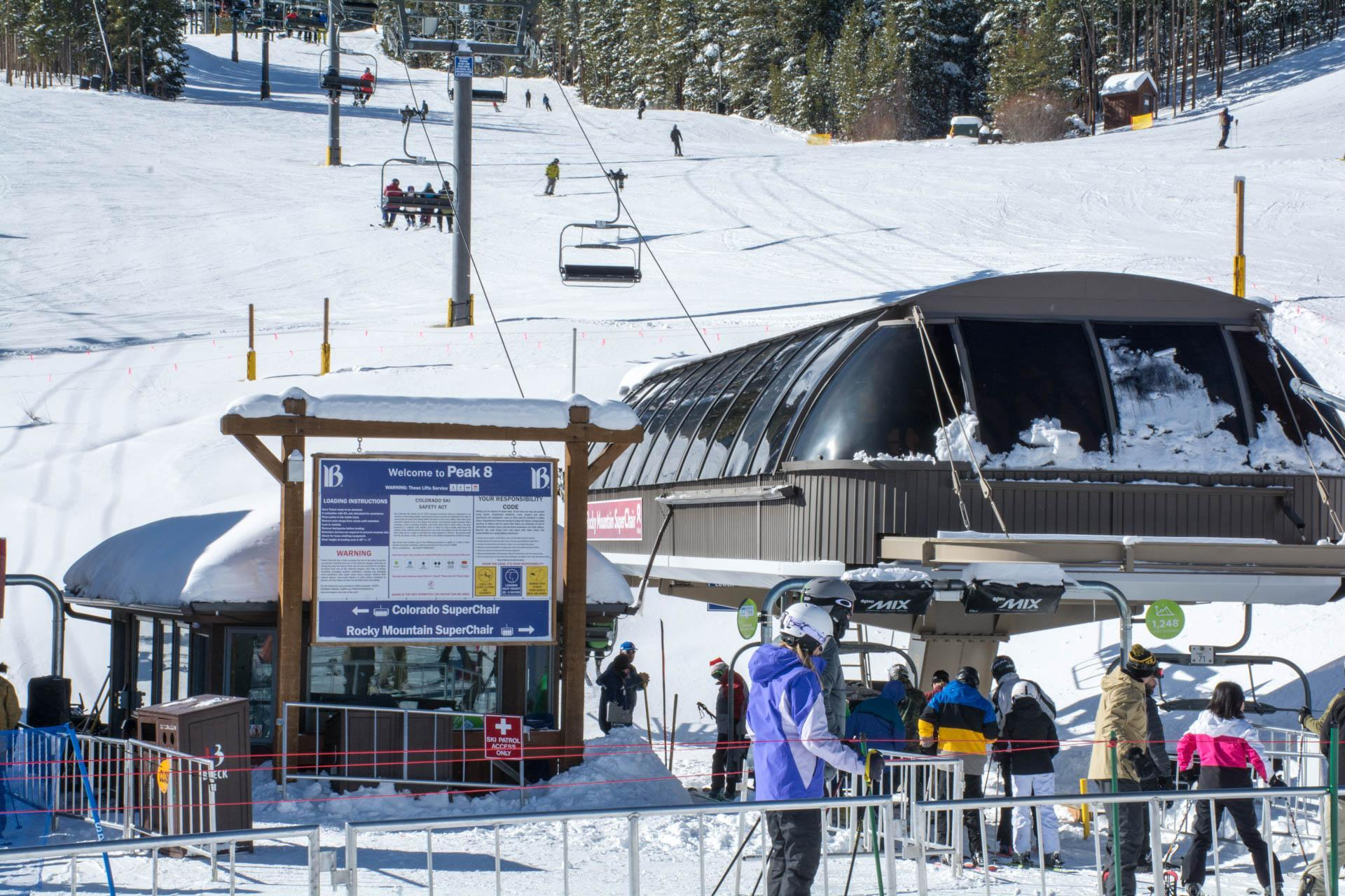Peak 8 Breckenridge Ski Area