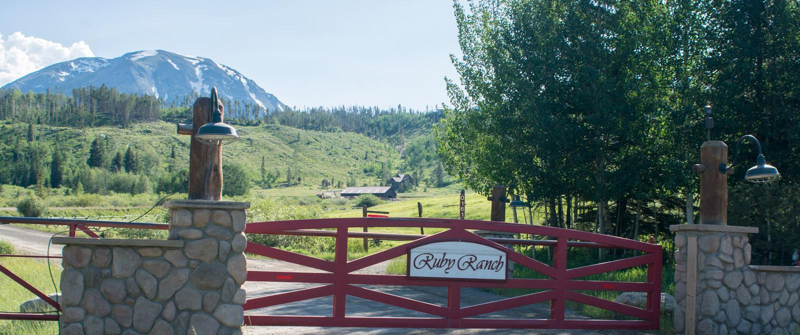 Ruby Ranch, above Silverhthorne backing national forest