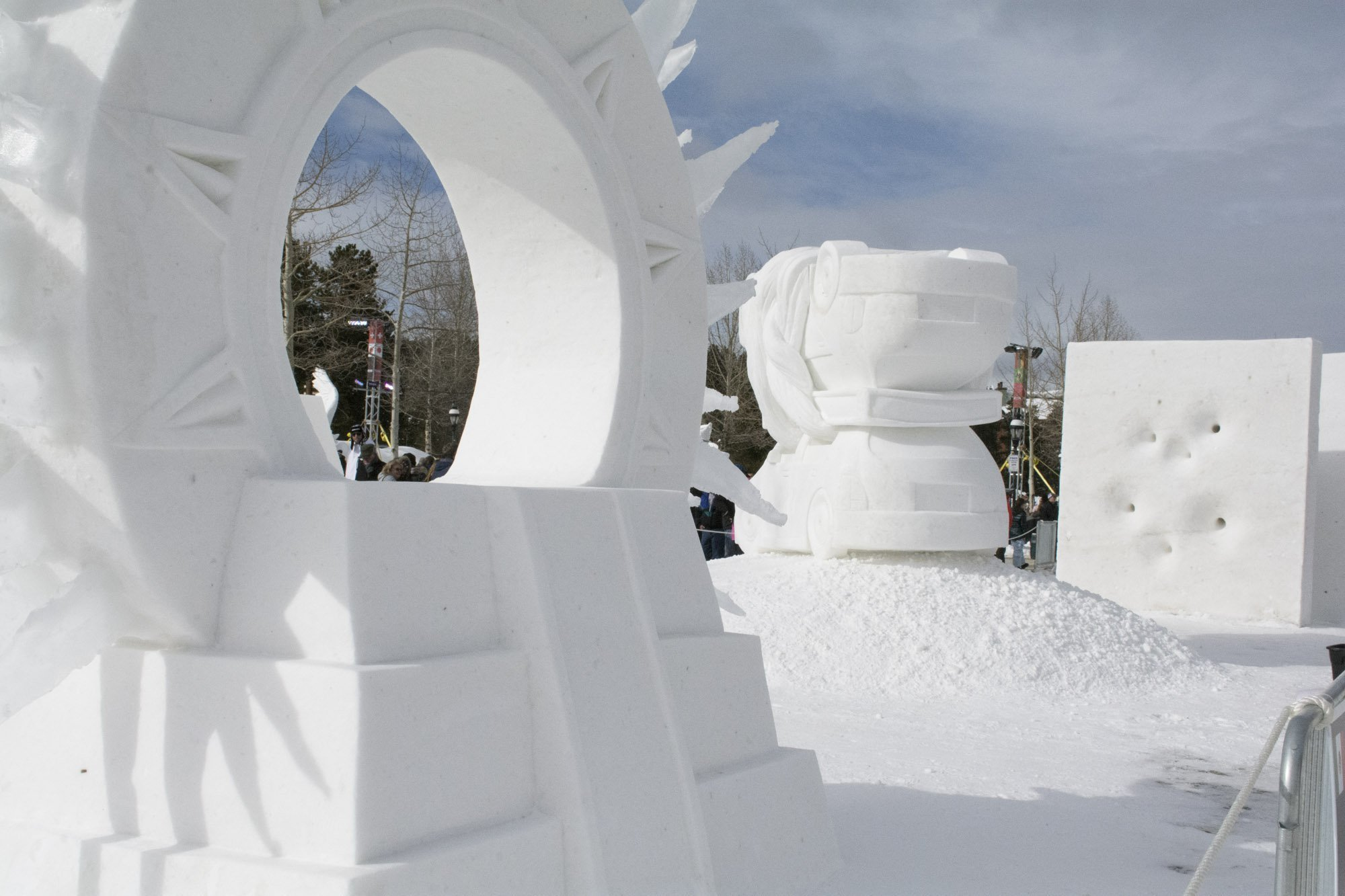 Breckenridge International Snow Sculpture Championships - 2017 year's winner