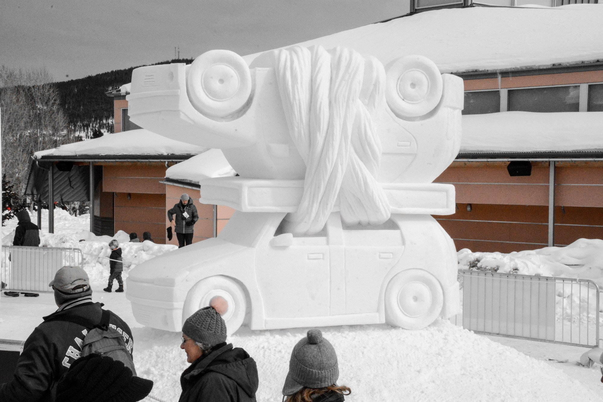 Breckenridge International Snow Sculpture Championships - 2017 Second place