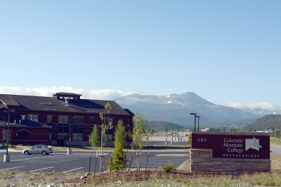Colorado Mountain College, near Hwy 9 on the northside of Breckenridge