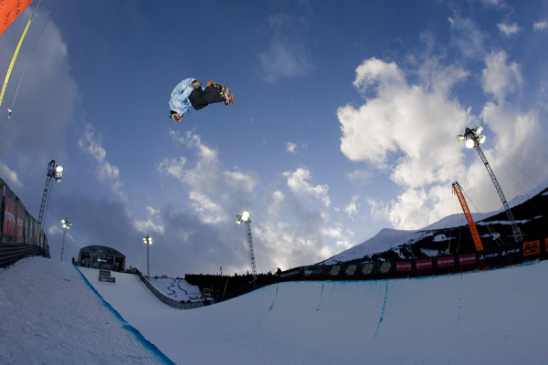 Annual Dew Tour - free style ski and snowboarding event