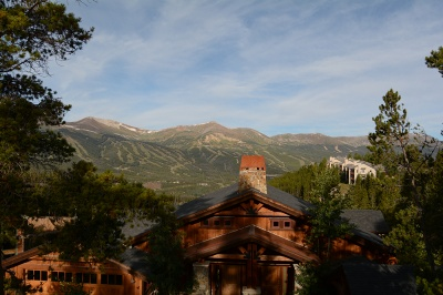 View of Breckenridge Ski Area from Woodmoor Townhome  for sale