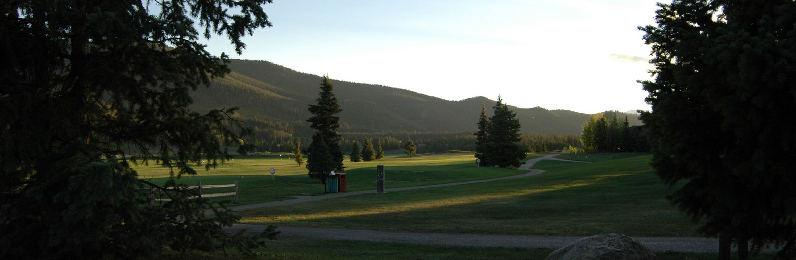Golfing in Summit County - Keystone pictured