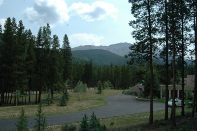 Example of home with a view in Spruce Valley Ranch to Tenmile