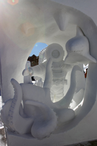snow sculpture 1990s Breckenridge
