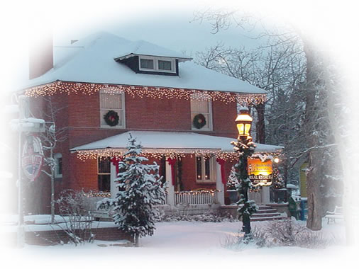 Breckenridge Associates Real Estate Home in Winter.